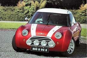 Так Mini Coupe мог бы выглядеть, если бы британцы начали выпускать его в 1997 году, когда показали прототип со 160-сильным мотором, построенный на базе платформы среднемоторного родстера MG-F. Кстати, этот Mini Concept Monte Carlo был заднеприводным.