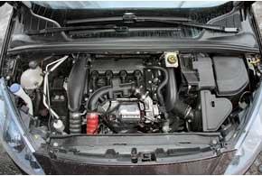 Турбированный 150-сильный мотор на украинских машинах работает в паре с 6-ступенчатым «автоматом». Тут без вариантов.