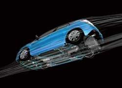 Новые обтекатели обеспечивают плавное огибание нижней поверхности кузова потоком воздуха и уменьшают завихрения.