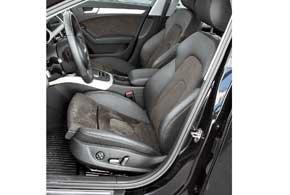 Удобно устроившись в словно по фигуре скроенных креслах со множеством регулировок, включая подвижный подколенный валик, остается только прислушаться к себе и понять, какое настроение хотелось бы передать Audi.