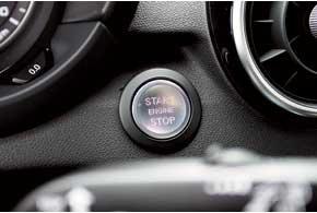 Бесключевой доступ и кнопка запуска мотора предлагаются и для самой компактной модели Audi.