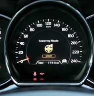 Новый сeed научился дарить разные ощущения от управляемости  для этого можно выбирать один из трех режимов работы электрического усилителя. С увеличением скорости руль независимо от режима становится более плотным и наливается усилием в скоростных виражах.