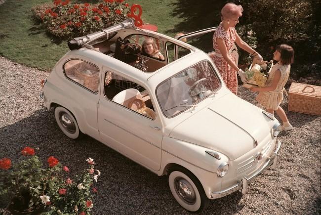 FIAT 600  итальянский прообраз легендарного «Запорожца».
