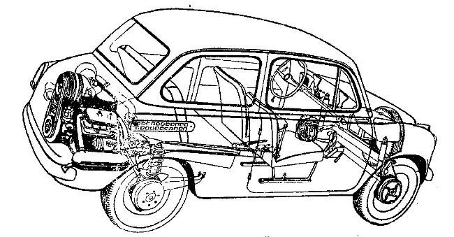 Рентгеновский снимок «Запорожца».