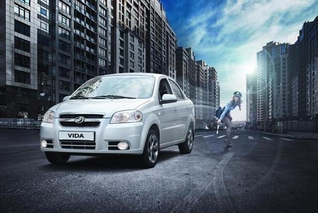 ЗАЗ Vida  украинский Chevrolet Aveo.