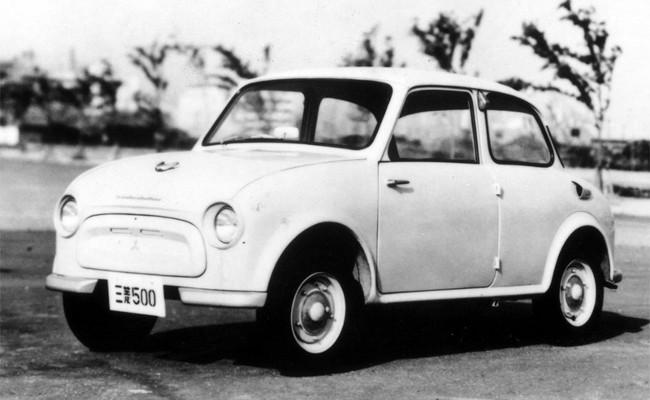 Mitsubishi 500 - первый легковой автомобиль Mitsubishi после Второй Мировой войны