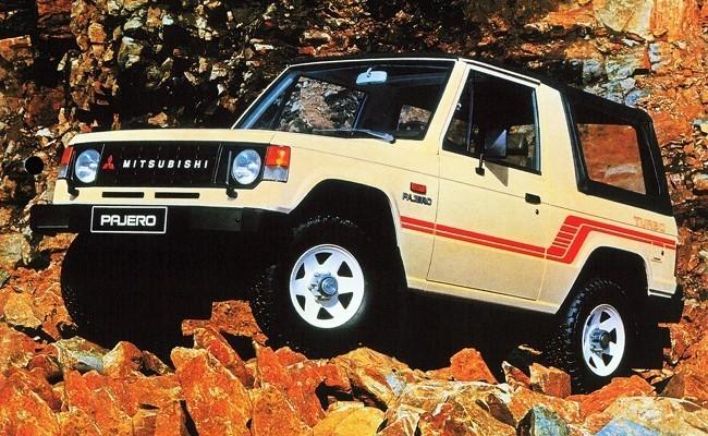 Первое поколение Mitsubishi Pajero (1982 - 1991)
