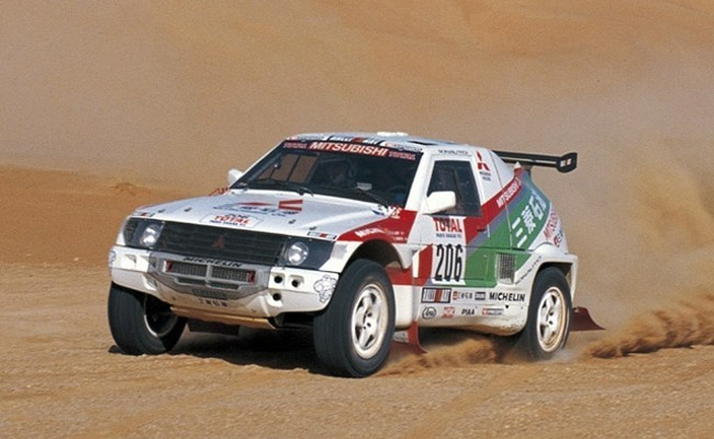 Mitsubishi Pajero Rally-Car (1992 - 1996)