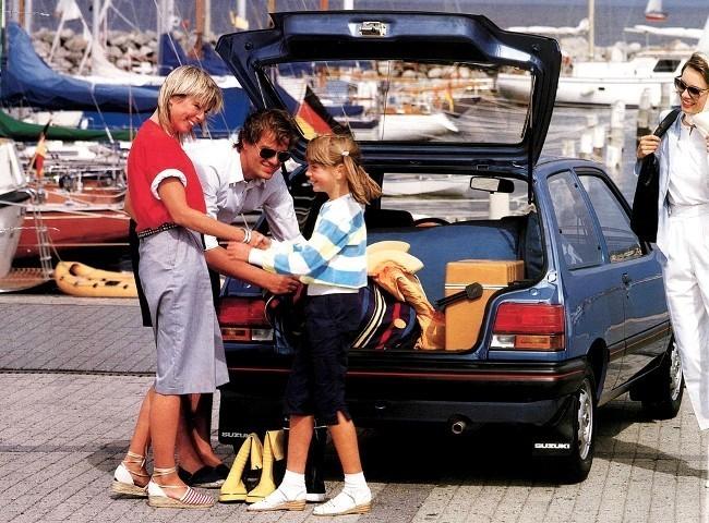Первое поколение Suzuki Swift