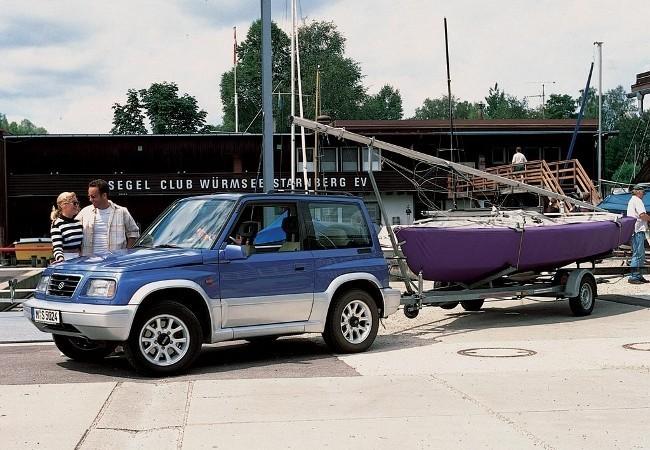 3-х дверный Suzuki Vitara (1989 - 1998)
