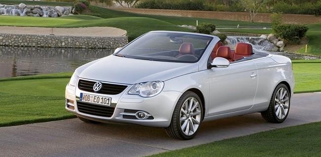 Первый Volkswagen Eos увидел свет в 2006 году