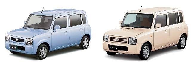Mazda Spiano и Suzuki Alto Lapin