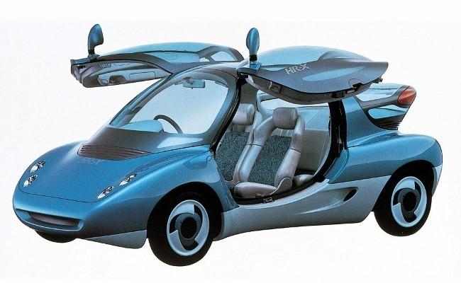 Mazda HR-X с роторным двигателем