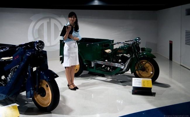 Первой успешной моделью стал трицикл Mazda-Go