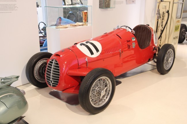 Cisitalia D46 - на этом автомобиле была выиграна гонка в Хокенхаймринге в 1947, в первой послевоенной гонке