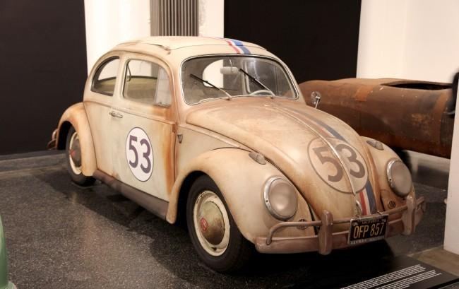 А это оригинальный Herbie, снявшийся в фильме студии Walt Disney