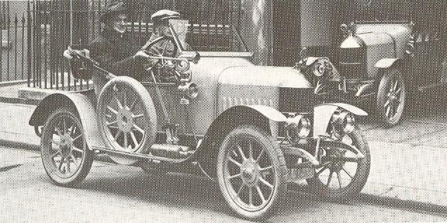 Первая модель компании Уильяма Морриса - Morris Oxford образца 1913 года