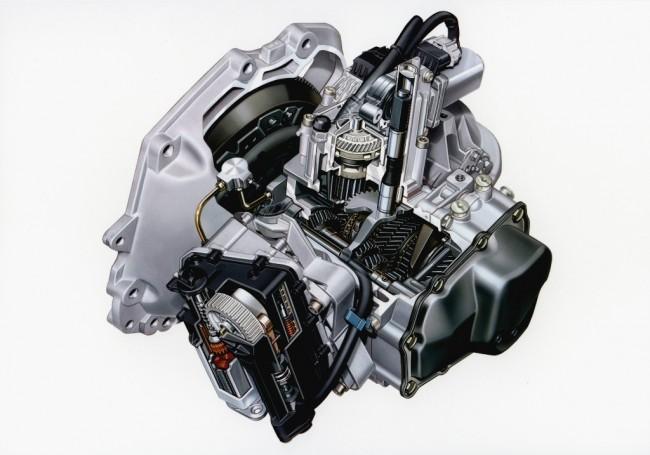 Роботизированная коробка передач схожа по конструкции с механикой. На иллюстрации - Opel Easytronic