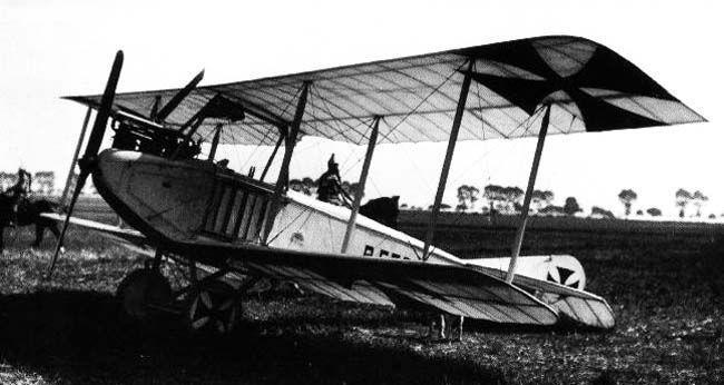 Aviatik  самолет разведчик