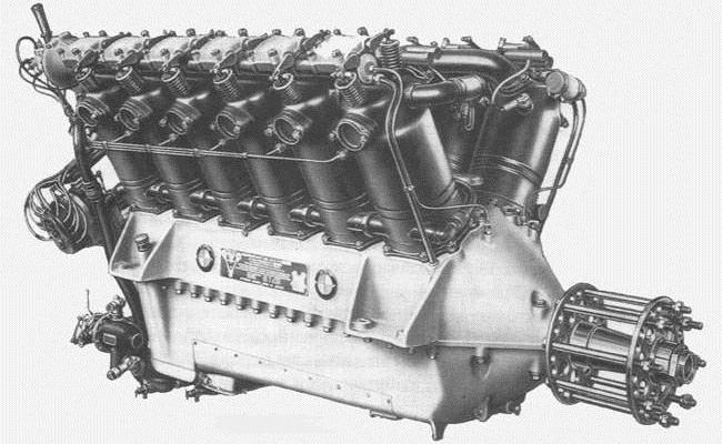 Авиадвигатель BMW VI