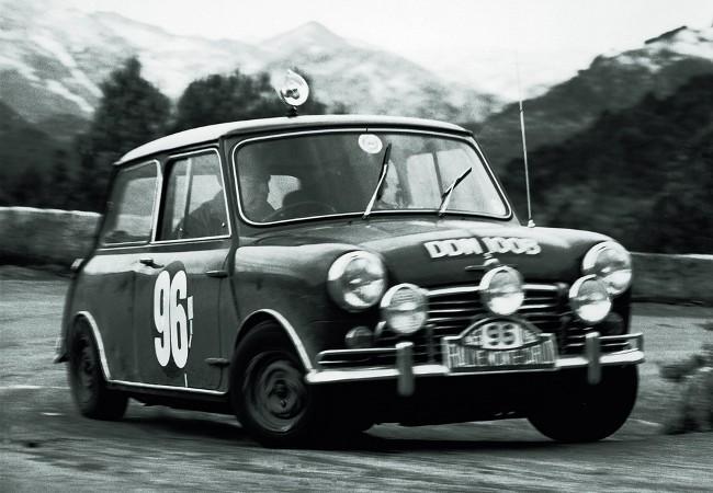 Четыре года подряд Mini Cooper не знал себе равных на допах ралли Монте-Карло