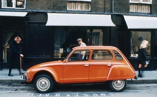 Citroen Dyane - первый автомобиль компании Saipa