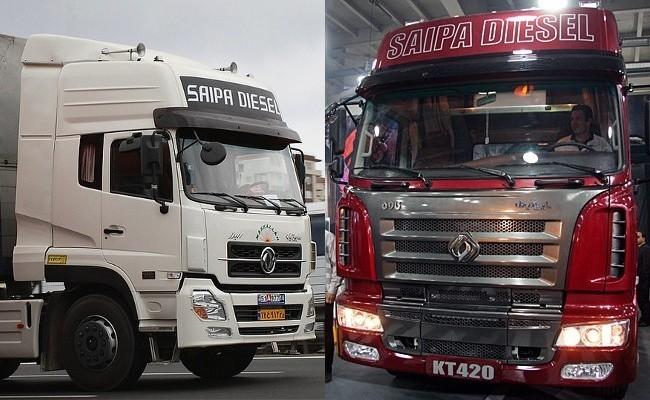 Современная продукция Saipa Diesel Company