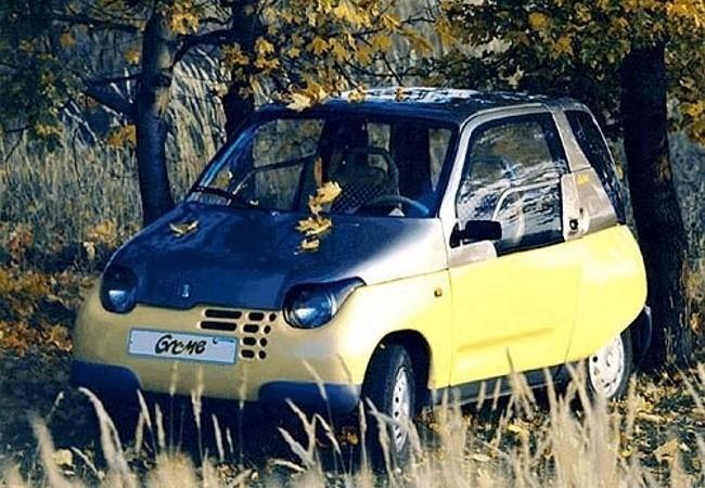 Lada Gnome - микроавтомобиль созданный на укороченной платформе «Оки»