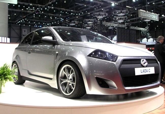 Lada C Concept - одна из совместных разработок АвтоВАЗ и канадской Magna International
