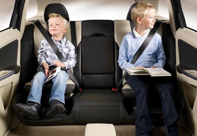 Volvo стала одной из первых автомобильных компаний, начавших уделять огромное внимание безопасности детей