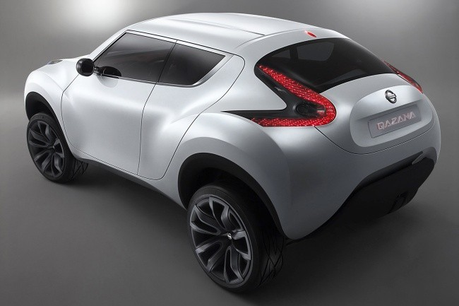 Так выглядел прототип Nissan Juke в 2009 году