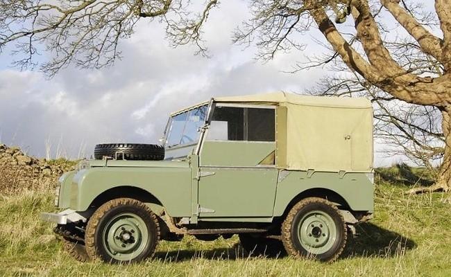 Первая предсерийная версия Land Rover Series I