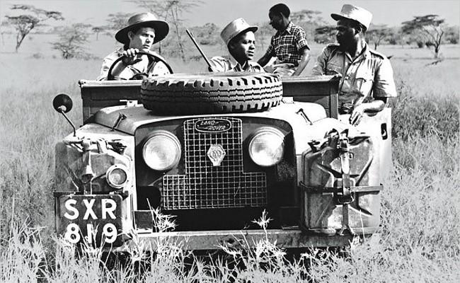 Land Rover Series II покоряет африканскую саванну