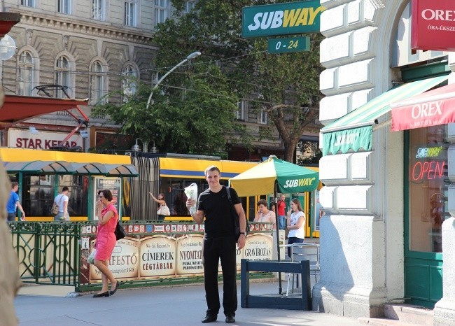 Очередное желание выполнено - куплен почти полметровый бутерброд Subway
