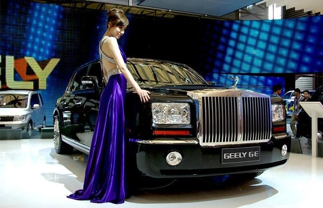 Первый лимузин компании Geely