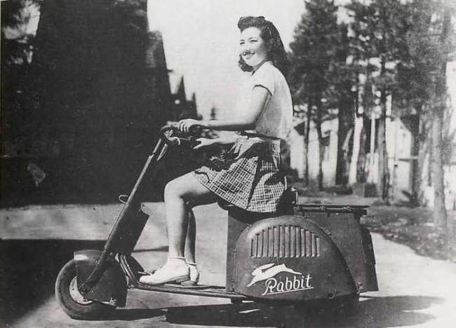 Мотороллер Rabbit, 1947г.