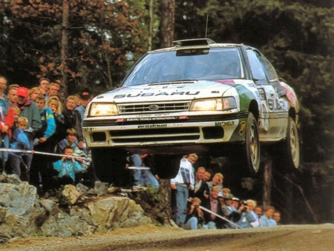 С моделью Legacy началась победное шествие Subaru в чемпионате WRC