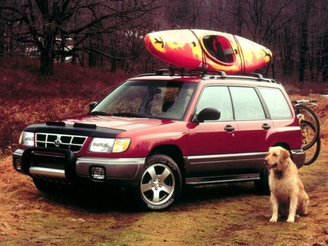 Subaru Forester (1997г.) был пионером в классе кроссоверов