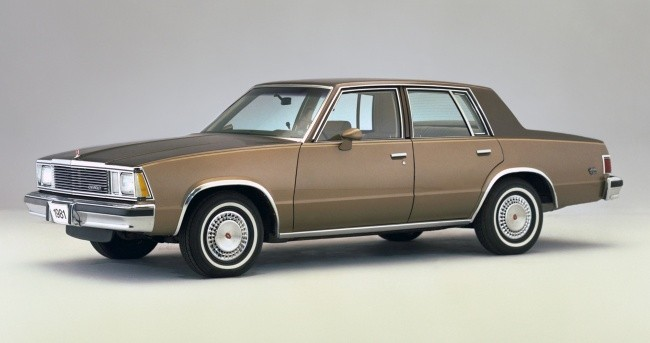 Таким был Chevrolet Malibu в начале 80-х