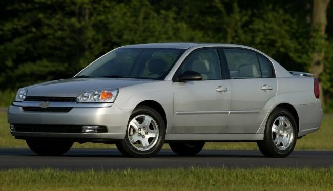 Шестое поколение Malibu в профиль очень походило на Opel Vectra