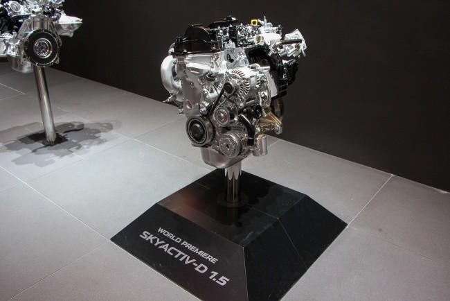 Точные характеристики нового 1.5-литрового дизеля Mazda пока не раскрывает