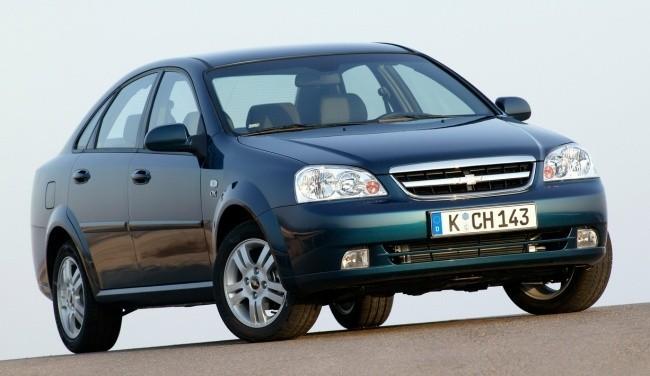 Chevrolet Lacetti выпускался с 2004 по 2009 год