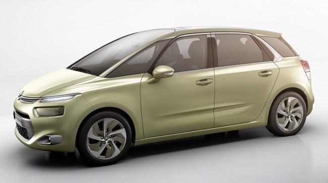 Концепт Citroen Technospace был почти готовым серийным автомобилем