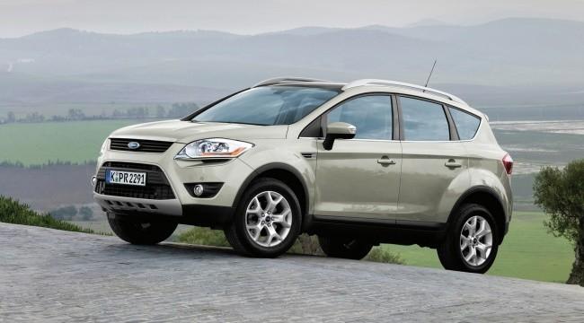 Первое поколение Ford Kuga выпускалось с 2008 по 2013 год
