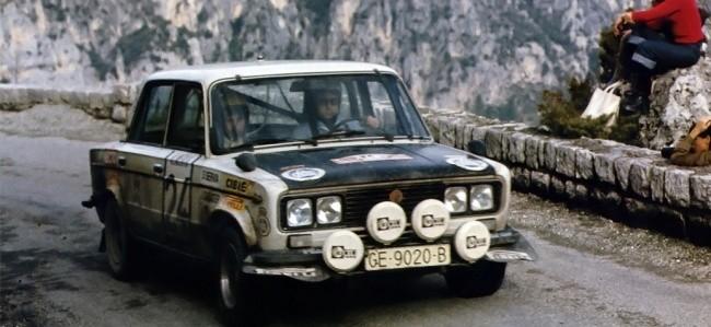 """SEAT 1430 на ралли """"Монте-Карло-1977"""""""