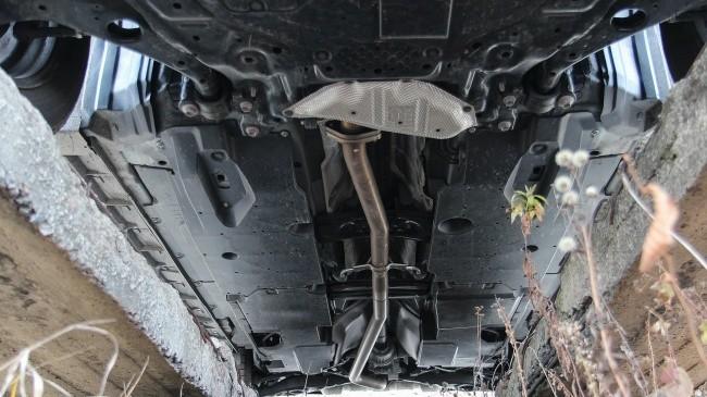 Mazda CX-5: гладкое днище хорошо не только для аэродинамики, но и на бездорожье