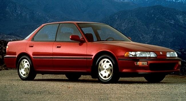 Acura Integra 1991 года