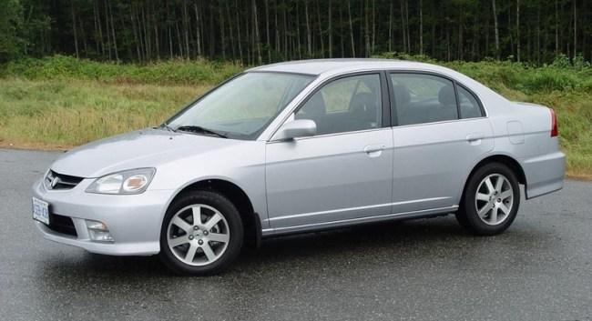 Acura EL 1995 года