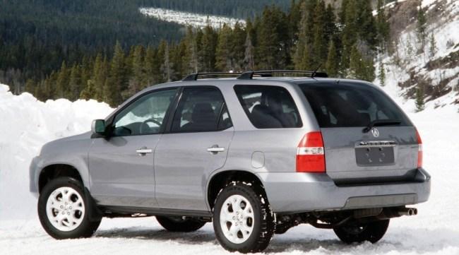 Acura MDX 2000 года