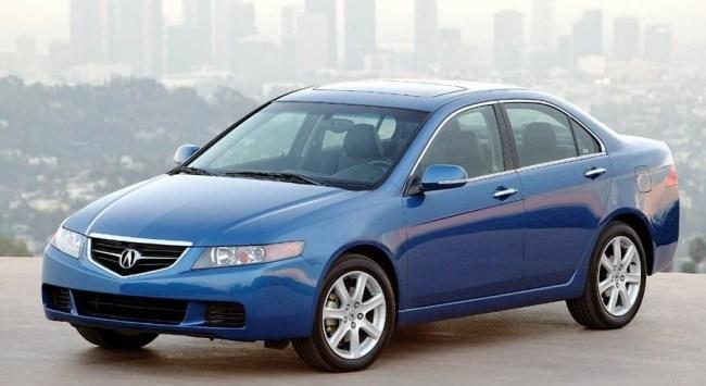 Acura TSX 2003 года